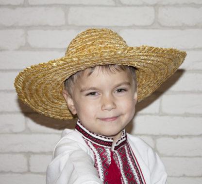 соломенная шляпа украинская